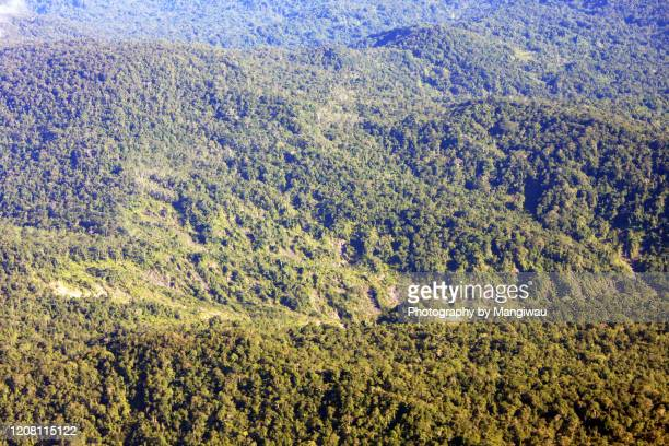 unstable geology - papua province indonesia stock pictures, royalty-free photos & images