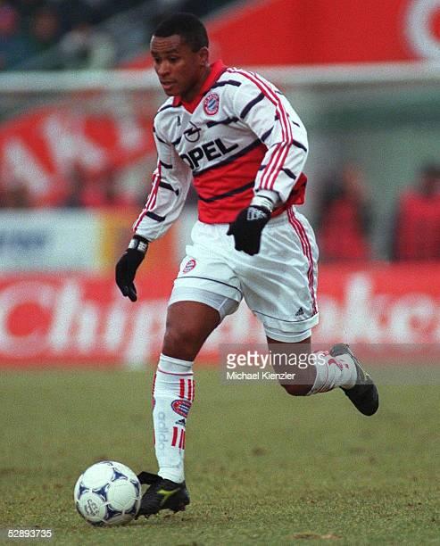 1 BUNDESLIGA 99/00 Unterhaching SpVgg UNTERHACHING FC BAYERN MUENCHEN 02 Paulo SERGIO/BAYERN