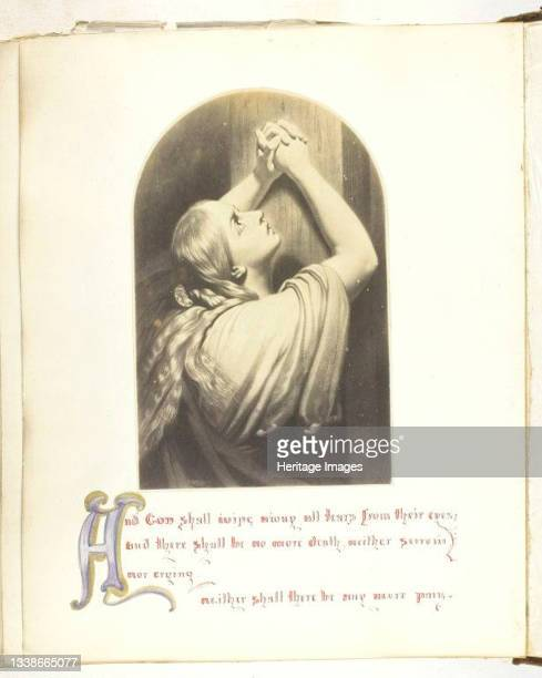 Untitled, 1855/68. A work made of albumen print. Artist Georgina Cowper.
