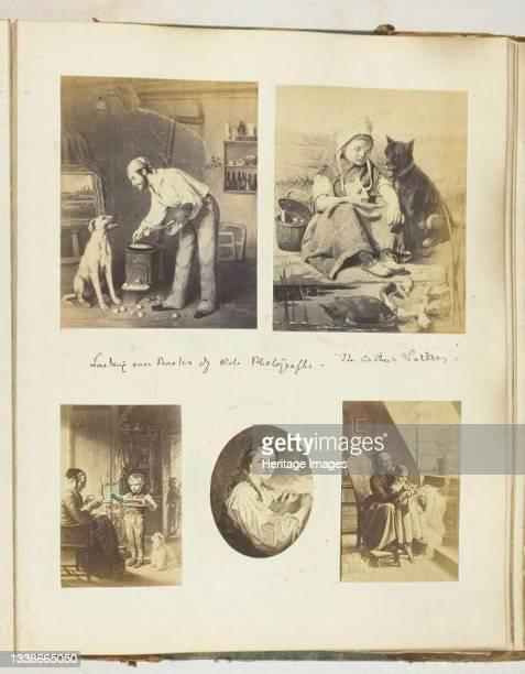 Untitled, 1855/68. A work made of albumen prints . Artist Georgina Cowper.