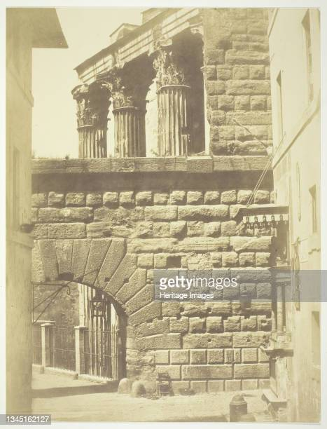"Untitled , circa 1857. Albumen print, from ""Photographs of Views of Rome"" . Artist Robert MacPherson."