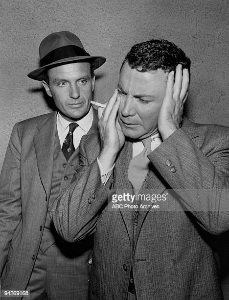 """Untouchables leader Eliot Ness hears the trajic story of comic Johnny Pacheck's involvement with a racketeer during """"Ain't We Got Fun"""" which aired on..."""