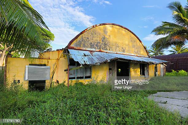 Unused World War 2 hanger,Luganville, Santo Island