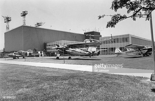 MAR 18 1978 MAR 20 1978 Unusual Aircraft On Display At Longmont Center Sightseer interest centered on from left a Grumman American a 1952 Cessna 195...
