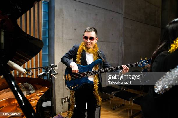 unusual bassist - bizarre fashion stock pictures, royalty-free photos & images