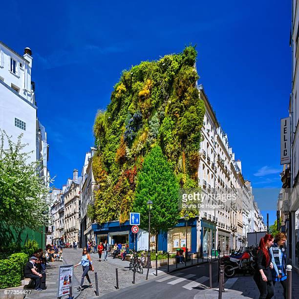Unusual Building in Paris