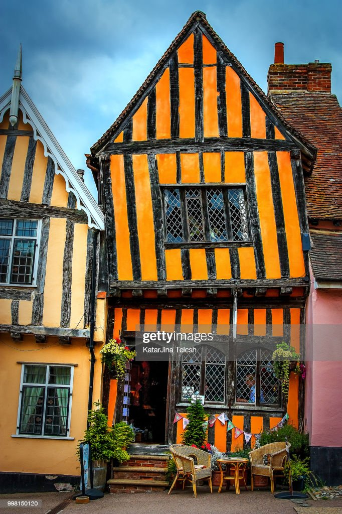 Unusual Lavenham : Stock Photo