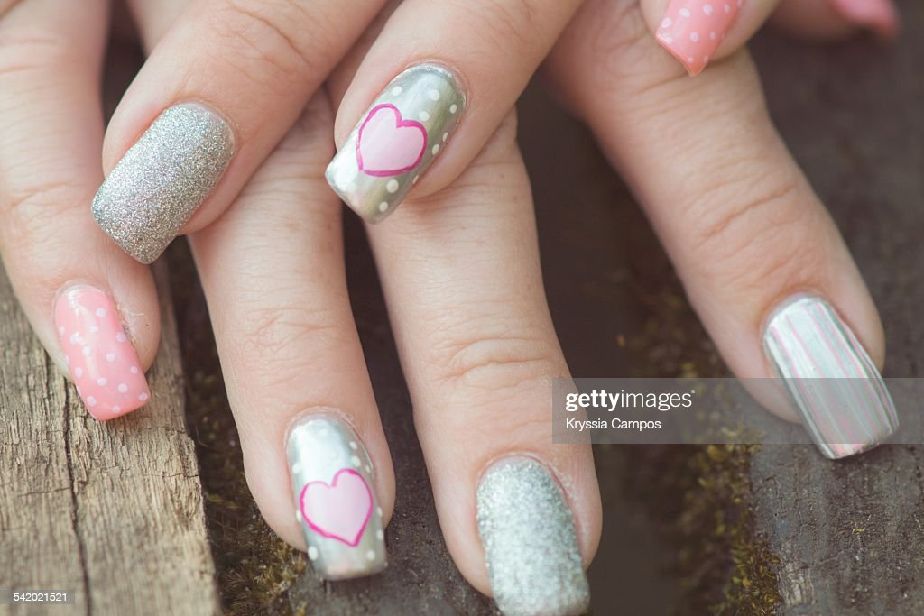 Unusual Nail Art Stock Photo Getty Images
