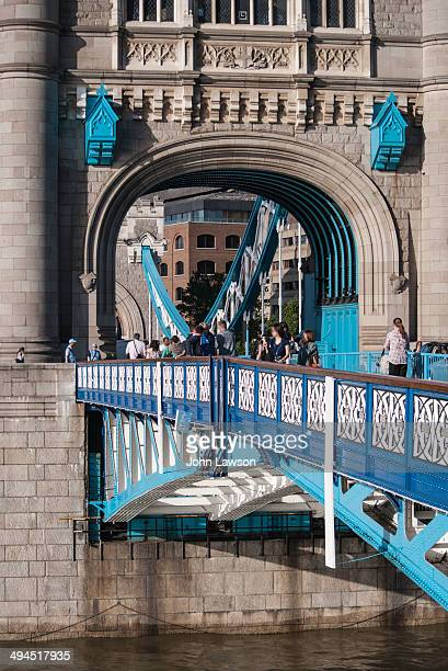 CONTENT] Unusual view of London's Tower Bridge