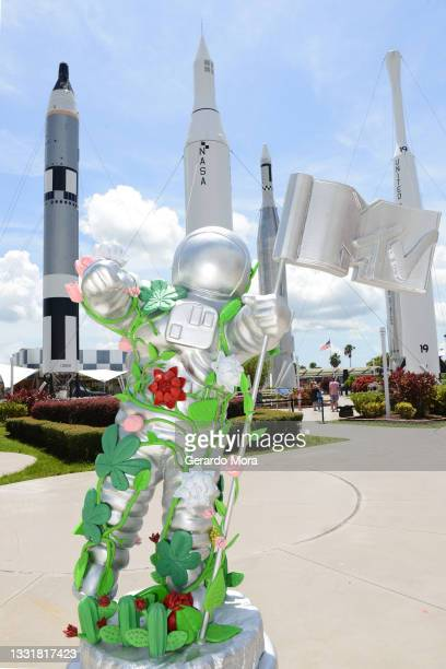 Unveils special edition large-scale Moon Person at Kennedy Space Center Visitor Complex in honor of The Youth Brand's 40th Anniversary on August 01,...