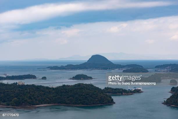 Unzen Amakusa matsushima National Park viewpoint , kyushu ,japan
