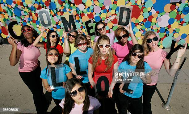 Up and coming female comedians will be performing in Comedy is the new black during Ladies Laugh Out–loud at the Echoplex on March 19 2009 From the...