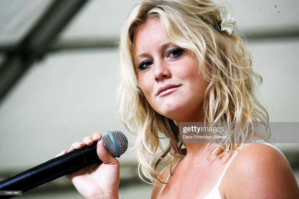 Jenny-Lynn Smith Plays The Marylebone Festival : News Photo