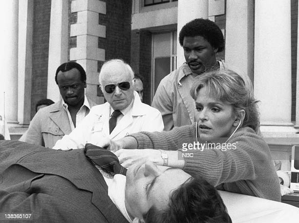 """Up and Down"""" Episode 7 -- Pictured: Norman Lloyd as Dr. Daniel Auschlander, Sagan Lewis as Dr. Jacqueline Wade"""