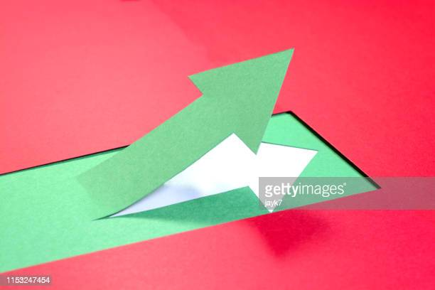 up arrow - improvement stock pictures, royalty-free photos & images