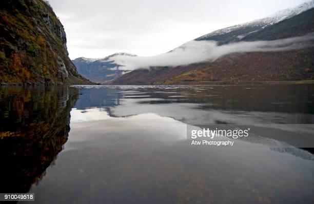 Up Aurlandsfjord From Flåm