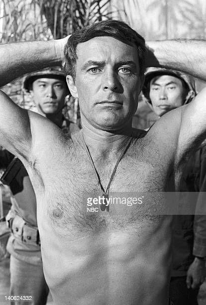 SHEEP Up For Grabs Episode 9 Aired 11/16/76 Pictured Robert Conrad as Major Greg 'Pappy' Boyington Photo by NBCU Photo Bank