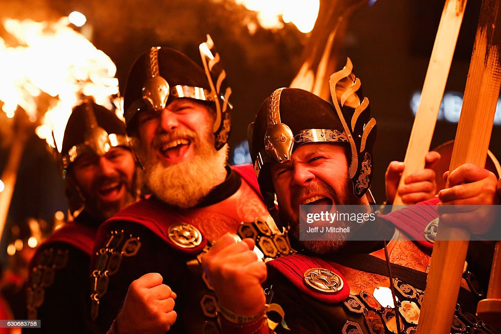 A Torchlit Procession Kicks-off Edinburgh's Hogmanay Celebrations : News Photo