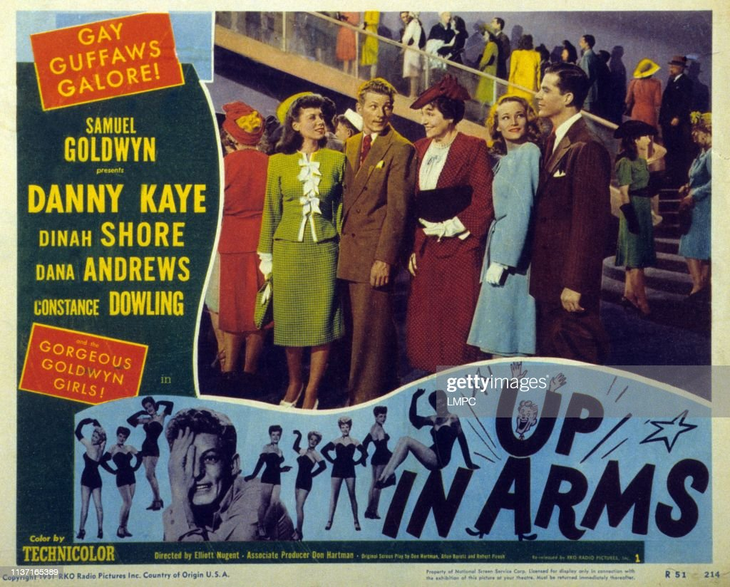 Image result for Up in Arms 1944