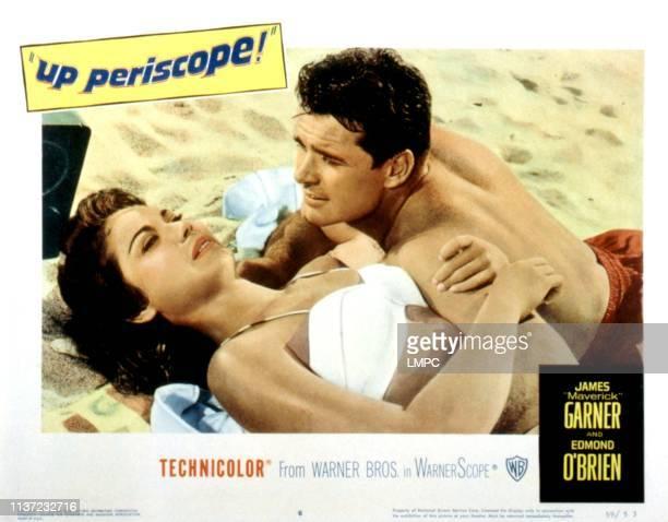 Up Periscope lobbycard Andra Martin James Garner 1959