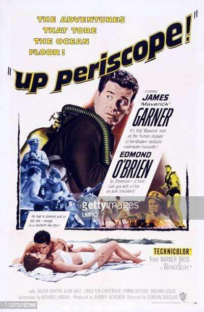 James Garner top lower right Edmond O'Brien bottom lr Andra Martin James Garner on poster art 1959