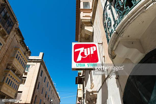 7 Up street sign