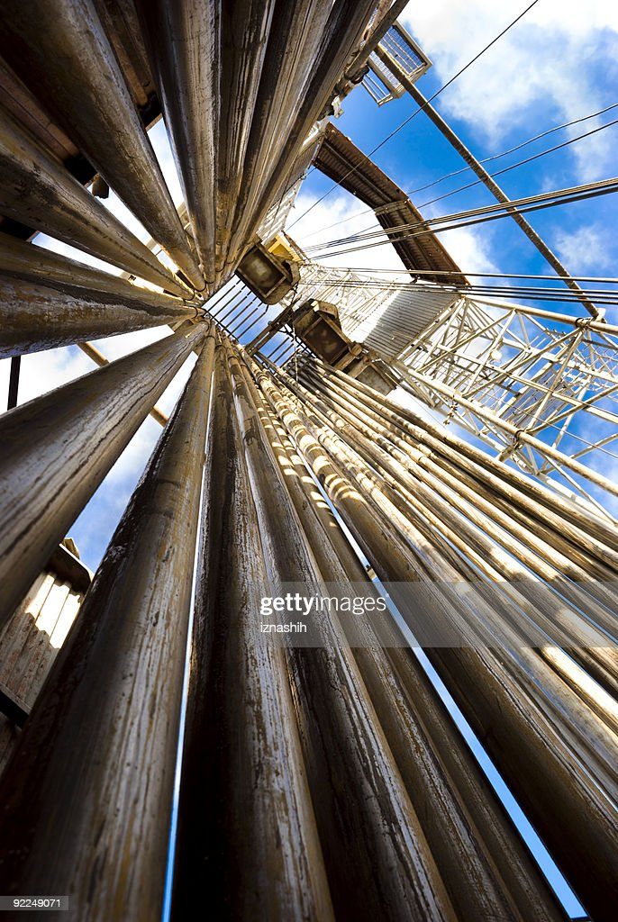 Up the Rig : Stock Photo