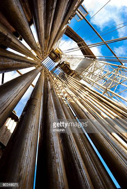 up the rig - drill stock pictures, royalty-free photos & images