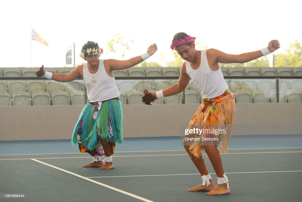 National Indigenous Tennis Carnival Launch : News Photo