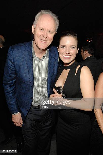 Upfront Party at MoMA in New York City on Monday May 16 2016' Pictured John Lithgow Trial Error on NBC Sophia Bush Chicago PD on NBC