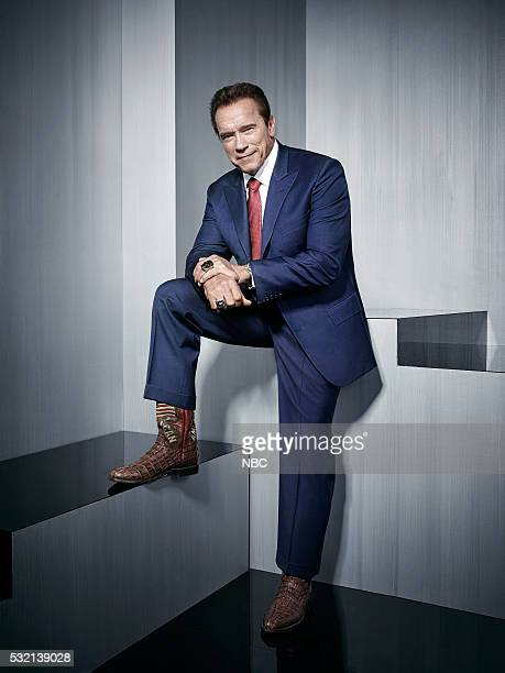 Upfront Party at MoMA in New York City on Monday May 16 2016' Pictured NBC's 'The New Celebrity Apprentice' star Arnold Schwarzenegger