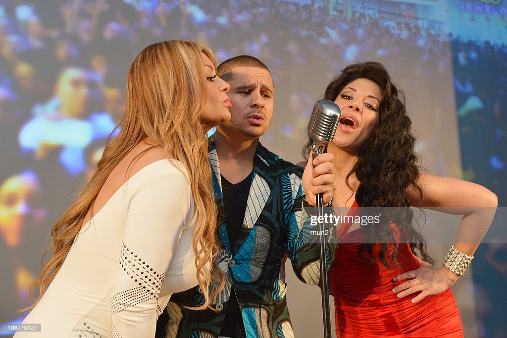 Vicky Terrazas, Larry Hernandez, and Marisol Terrazas.--