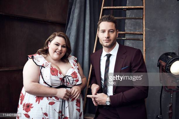 EVENTS Upfront Portrait Studio Pictured Chrissy Metz Justin Hartley This Is Us
