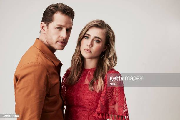 EVENTS Upfront Portrait Studio Pictured Josh Dallas Melissa Roxburgh Manifest