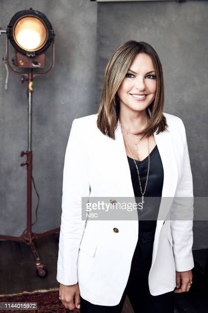 EVENTS Upfront Portrait Studio Pictured Mariska Hargitay Law and Order Special Victims Unit