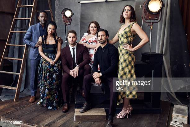 EVENTS Upfront Portrait Studio Pictured Sterling K Brown Susan Kelechi Watson Justin Hartley Chrissy Metz Milo Ventimiglia Mandy Moore This Is Us