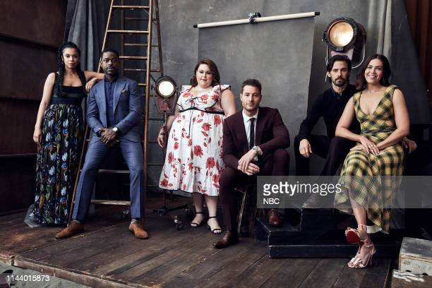 EVENTS Upfront Portrait Studio Pictured Susan Kelechi Watson Sterling K Brown Chrissy Metz Justin Hartley Milo Ventimiglia Mandy Moore This Is Us