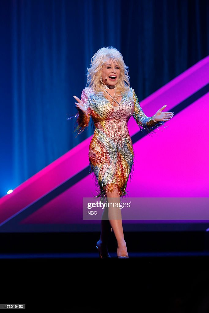 Upfront Presentation -- Presentation to Advertisers -- Pictured: Dolly Parton 'Coat of Many Colors' --
