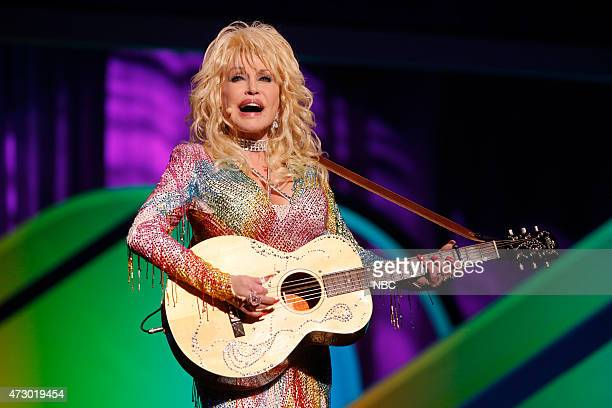 """Upfront Presentation -- Presentation to Advertisers -- Pictured: Dolly Parton """"Coat of Many Colors"""" --"""