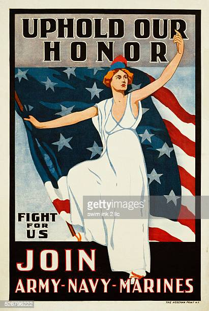 Uphold Our Honor Join ArmyNavyMarines Poster