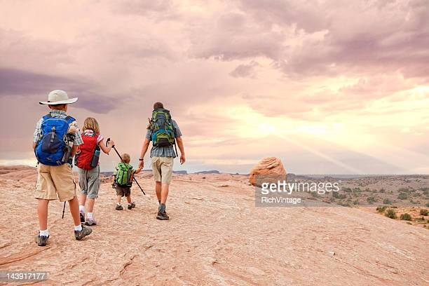uplifting journey - moab utah stock photos and pictures
