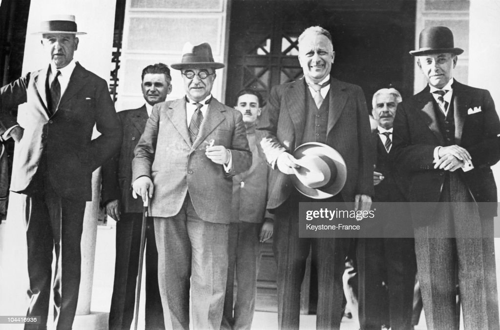 Nomination Of The New Greek Government In 1936 : News Photo