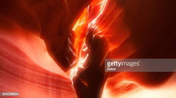 Upper Antelope Canyon natural rock