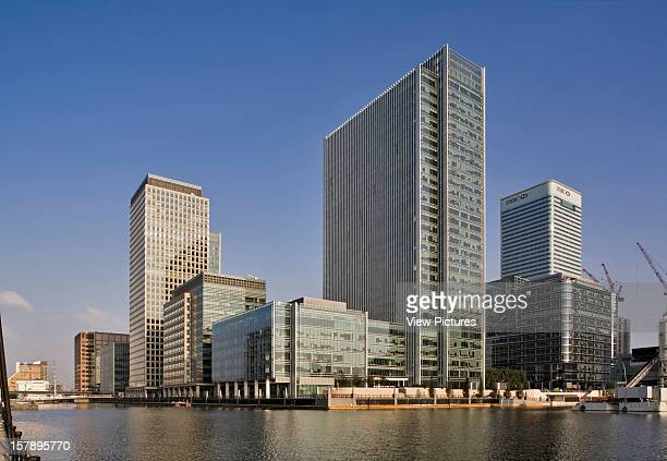 10 Upper Bank Street London United Kingdom Architect Kohn Pederson Fox 10 Upper Bank Street General Docklands View Showing How Building Integrates...