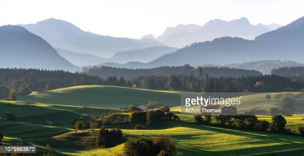 Upper Bavarian Landscape, Germany, Europe