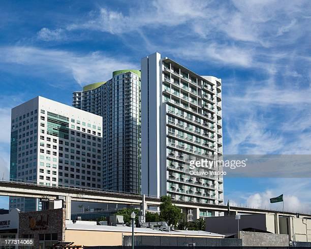 CONTENT] Upper Brickell financial district Miami