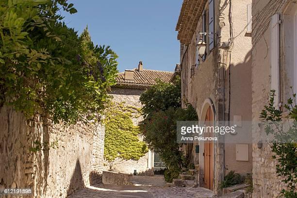 PLACE DE L'ORME, Upper city (Haute-Ville), Vaison la Romaine, Provence, France