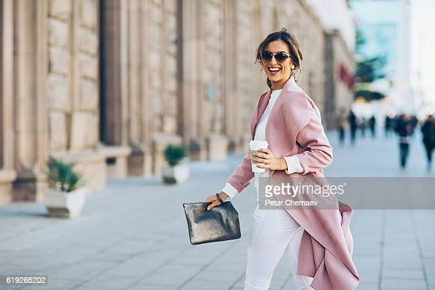 upper class woman - work shoe stock photos and pictures