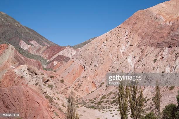 Upper Cretaceous Yacoraite Formation Of Cerro De Los Siete Colores , Purmamarca, Jujuy, Argentina.
