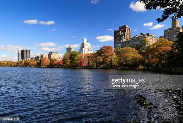 Upper East Side Manhattan from Central Park